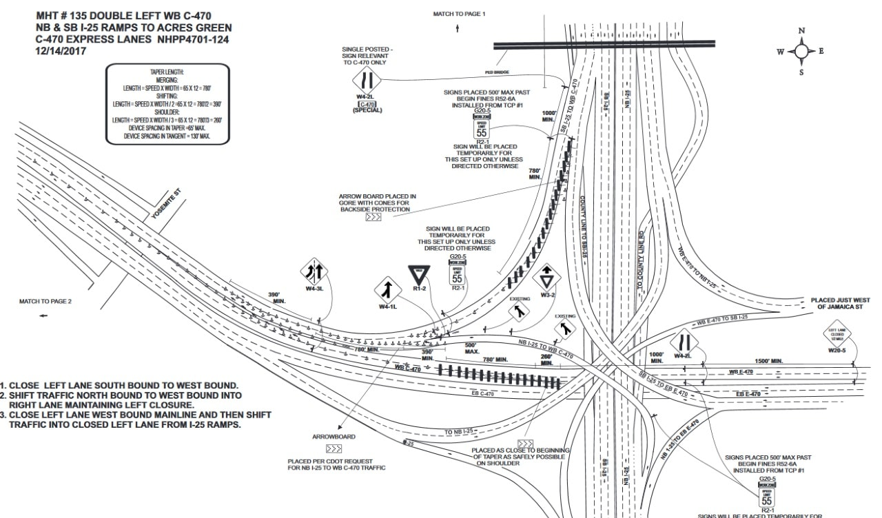 traffic control plans denver co